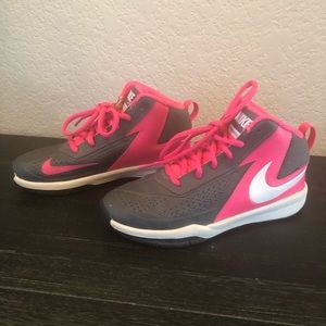 Girls Nike Shoes Size 13.5C High Top Sneakers